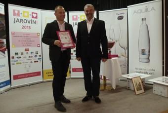 12. ročník mezinárodní soutěže růžových vín a klaretů JAROVÍN ROSÉ 2015