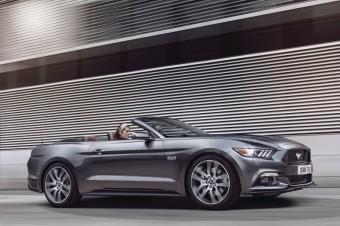 Nový Ford Mustang Convertible