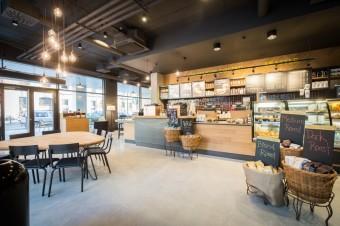Interiér: Starbucks Meteor Křižíkova