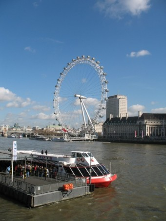 London Eye, Londýn