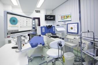 Operační sál, oční klinika Gemini