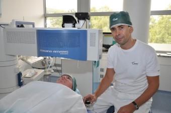 Pavel Stodůlka, přednosta sítě očních klinik Gemini