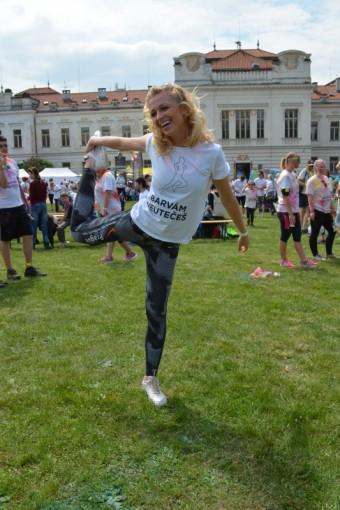 Veronika Kašáková se na závod opravdu těšila, ale příliš se nepřipravovala