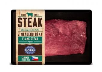 Český hovězí, Flank steak, Kostelecké uzeniny