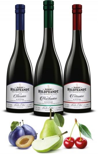 Slivovice, Hruškovice, Višňovice Baron Hildprandt, Premier Wines & Spirits
