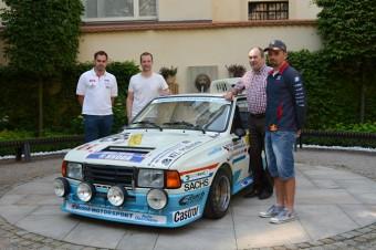 Škoda Rapid 130 R/H a jezdci: John Haugland, Juho Hänninen, Petr Fulín a Filip Sajler