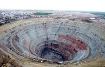 Důl Mir, foto: Alrosa