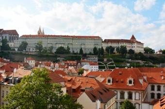 Pohled z věže, pokoj, kde bylo věštěno i králům
