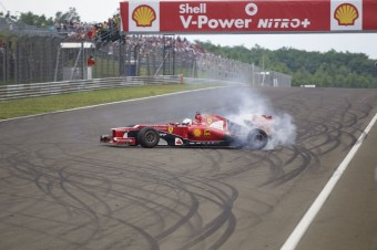 Ferrari Racing Days: Sebastian Vettel na okruhu, zdroj: Shell Czech Republic