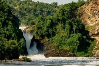 Vodopády Murchison Falls, foto: Petr Jan Juračka