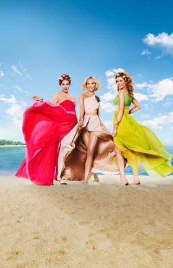 Tři bohyně - Karolína Mališová, Taťána Kuchařová a Gabriela Soukalová