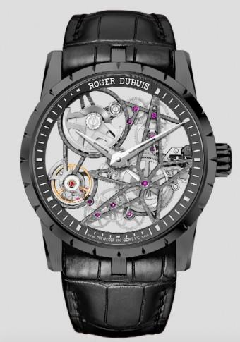 Excalibur 42 Skeleton Black Titanium  ref. DBEX0473, Roger Dubuis