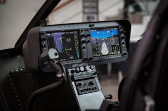 Bell 505 Jet Ranger X kokpit