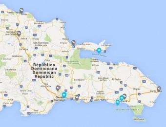 Přímé lety mezi Punta Canou a Puerto Plata, Dominikánská republika