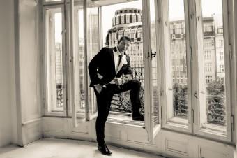Petr Vondráček: mistr světa v K1, foto: David Radil, lokace: Grand Hotel Evropa