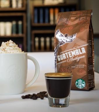 Guatemala Antigua edice Origin Espresso, Starbucks
