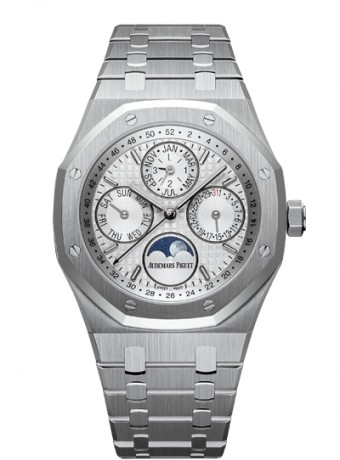 Audemars Piguet Royal Oak Perpetual Calendar with week indication and astronomical moon, 26574ST.OO.1220ST.01