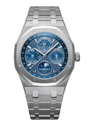 Audemars Piguet Royal Oak Perpetual Calendar with week indication and astronomical moon, 26574ST.OO.1220ST.02