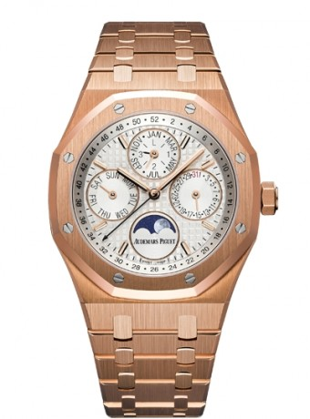Audemars Piguet Royal Oak Perpetual Calendar with week indication and astronomical moon, 26574OR.OO.1220OR.01