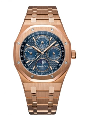 Audemars Piguet Royal Oak Perpetual Calendar with week indication and astronomical moon, 26574OR.OO.1220OR.02