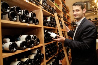 Jakub Přibyl, sommelier, Premier Wines & Spirits