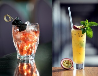 Koktejly: Made in USA a Virgin Passion Caipi, Cloud 9 sky bar & lounge