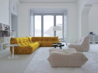 TOGO, Ligne Roset, Legenda na poli interiérového designu