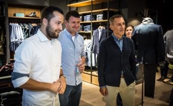 Otevření prodejny Marc O'Polo v Praze