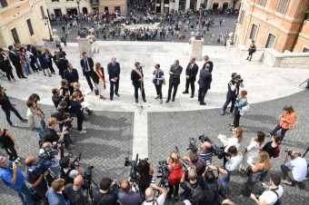 Bulgari a město Řím oznamují, že práce spojené s renovací Španělských schodů úspěšně začaly