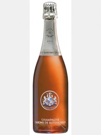 Champagne Barons de Rothschild Brut Rosé, Global Wines, (cena: 1 599 Kč)