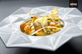 Dýňový krém s cappaletti, Adriana Pasta Style: Podzimní pábení