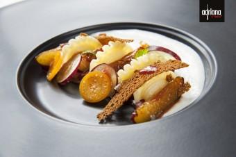 Creste de Gallo s marinovanými švestkami a perníkem, Adriana Pasta Style: Podzimní pábení