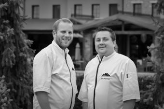 Nový šéfkuchař hotelové restaurace Petr Hajný a Jan Punčochář z pražského Grand Cru Restaurant & Bar, Park Hotel Popovičky