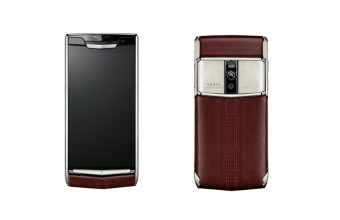 Garnet Calf, Vertu Signature Touch