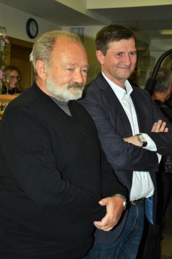 Výstava fotografií v Divadle Na Jezerce věnovaná Rudolfu Hrušínskému, foto: Bohumil Brejžek