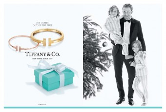 Brad Kroenig a jeho synové, Holiday 2015, Tiffany & Co.