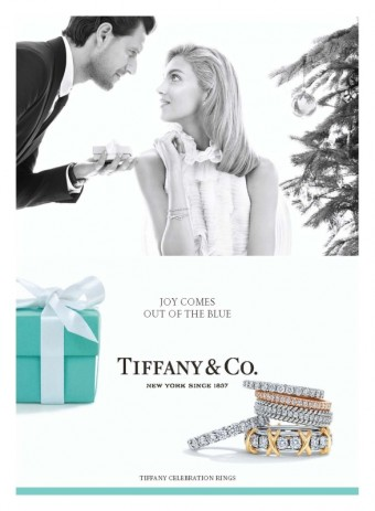 Anja Rubik a Sasha Knezevic, Holiday 2015, Tiffany & Co.