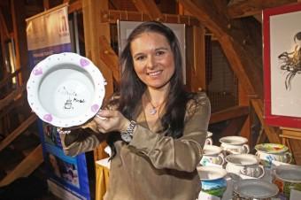 Umělecká cukrářka Markéta Krajčovičová, Foto: Showpix