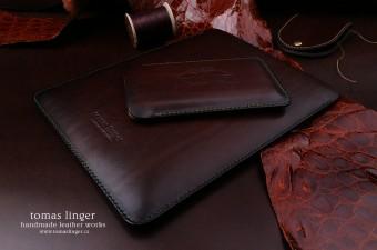 Ručně šitá kožená pouzdra Tomas Linger