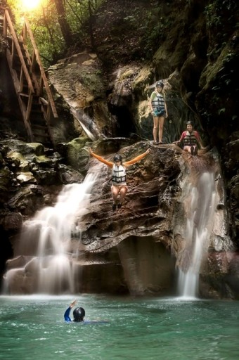 Vodopády Damajagua, Dominikánská republika