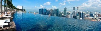 Marina Bay Sands, Singapore, foto zdroj: British Airways