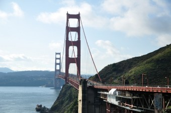 Golden Gate Bridge, Kalifornie, foto zdroj: British Airways