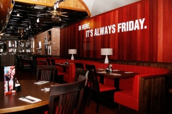 In Here, It´s Always Friday, T.G.I. Friday´s