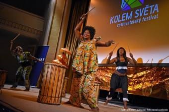 Festival Kolem světa, Africký tanec Bijou: Afro-dance