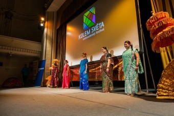 Festival Kolem světa, Indický tanec Bollywood v podání skupiny Rása