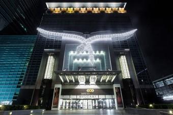 Světelná instalaceme, Tchaj-pej, BVLGARI