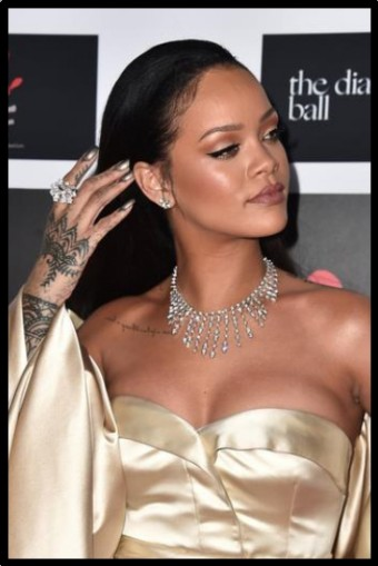 Rihanna 2nd Annual Diamond Ball, CARTIER