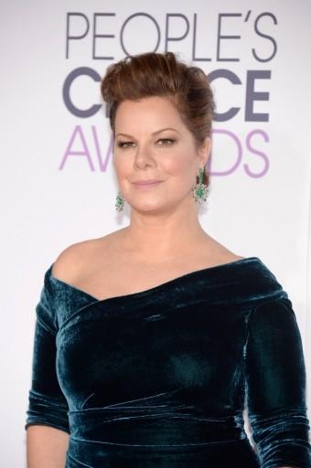 Marcia Gay Harden doplnila svou róbu o šperky a doplňky BVLGARI u příležitost 42. ročníku People´s Choice Awards v Los Angeles