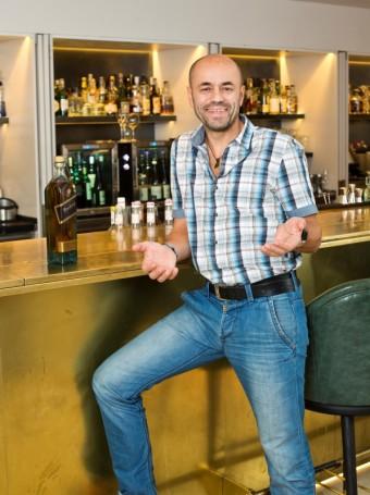 Radek Jaroš, foceno v Mandarin Oriental, foto zdroj: Johnnie Walker