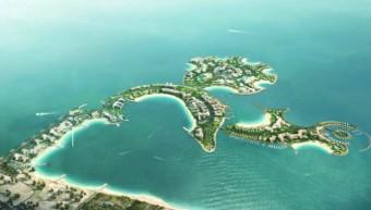 Umělý ostrov Al Marjan v Ras Al Khaimah (Spojené arabské emiráty), DIC RESORT